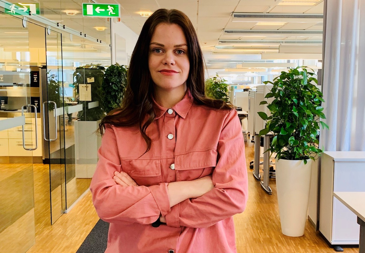 Myndigheten för yrkeshögskolans utredare Anna Svensson